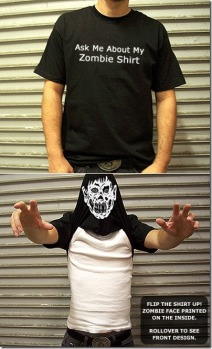 La camiseta Zombie